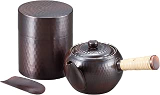 Wahei freiz 和平freiz 铜 茶壶套装 日本燕三条制造 燕三 匠弥 多色 急須・茶筒セット EM-8473
