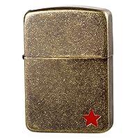 Zippo 之宝 美国防风打火机礼品 日版 1941古典复刻 古铜苏联红五星 古铜色