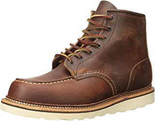 "RED WING 红翼 Classic Work Moc-Toe 男 马丁靴1907 COPPER ""ROUGH & TOUGH"""
