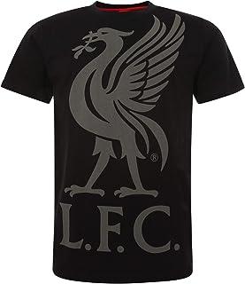 利物浦足球俱乐部黑色短袖男式橄榄球运动衫 AW19 LFC 官方