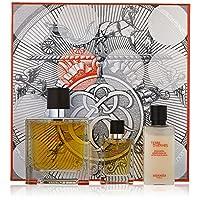 Terre D'Hermes by Hermes for Men 3 Piece Set Includes: 2.5 oz Pure Parfum Spray + 0.42 oz Pure Parfum Spray + 1.35 oz Aftershave Balm