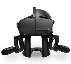 TNE VR 立式耳机展示架和触摸控制器安装站适用于 Oculus Quest/Oculus Rift/Rift S 一体式 64GB 128GB 虚拟现实游戏系统
