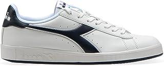 Diadora 中性款成人 ' 游戏 P 运动鞋低圆领,白色,4英国