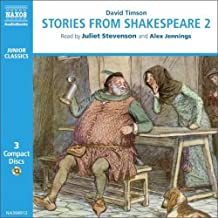 进口CD:提森:莎士比亚故事集第2集 Timson:Stories from Shakespeare,Vol.2(3CD)NA340912