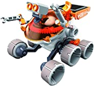 Jigamix 机器人搭建套装 – DIY 太阳能儿童机器人 – 男孩和女孩教学 STEM 玩具 – 带组装说明 – 72 件