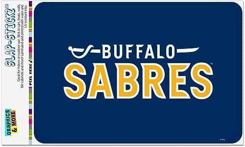 "GRAPHICS & MORE NHL Buffalo Sabers 标志家居商务办公室标志 多种颜色 4"" x 6"" STL07.NHL01.Z005539_8"