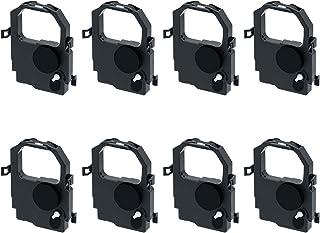 Printerfield 8 件装兼容打印机色带墨盒,适用于 Tally 2440/2540 / MIP480 T2440 T2540