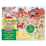 Melissa & Doug Scratch 和 sniff 贴纸 fruitville–220+ fruit-scented 贴纸