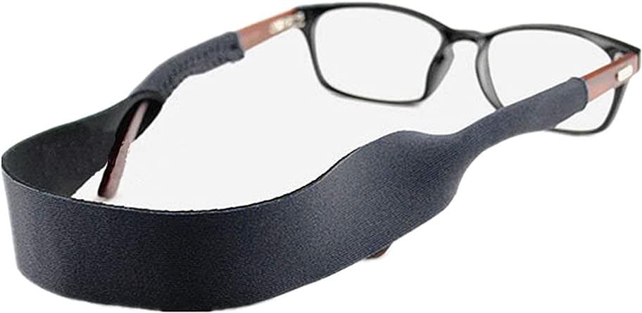 太阳镜和*防护镜带和太阳镜 BAND–2件装 | 防滑和快速 drying Active SPORT 眼镜带 | 黑色