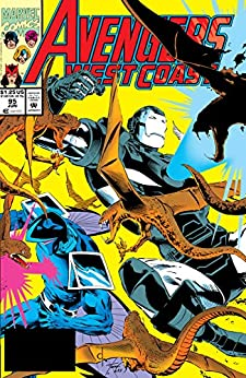 """Avengers West Coast (1985-1994) #95 (English Edition)"",作者:[Thomas, Roy, Thomas, Dann, Ross, David]"
