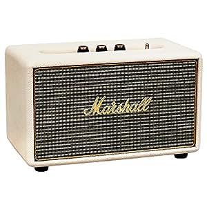 Marshall 马歇尔Acton蓝牙音箱 奶白色
