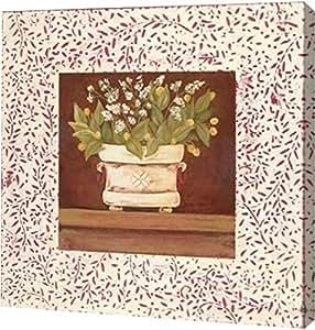 """PrintArt GW-POD-48-JM280-24x24""""Petit Fleur IV"""" 由 Jo Moulton 创作画廊装裱艺术微喷油画艺术印刷品 24"""" x 24"""" GW-POD-48-JM280-24x24"""