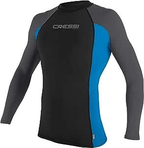 Cressi 女式短袖防磨指南,自 1946 年起就适合游泳、冲浪、潜水质量的成人*衣。