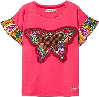 Desigual 女孩 T 恤 女孩針織短袖(Ts_Ottawa)