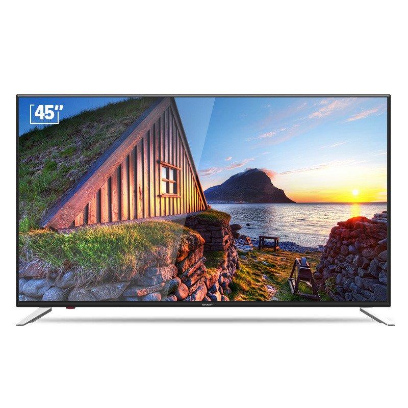 SHARP 夏普 LCD-45SF470A 45英寸HDR智能语音平板液晶电视机