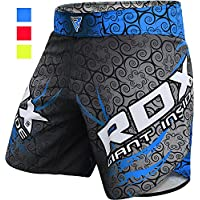 RDX MMA 弹力短裤服装训练笼 格斗 武术武术UFC Muay 泰拳拳