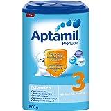 Aptamil 爱他美婴儿3段奶粉Pronutra亲源配方,适合10个月以上婴儿,4罐装 (4 x 800 g)