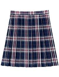 [方格波普]可选择长度的格子图案百褶裙(学校·制服) TN-92 女士