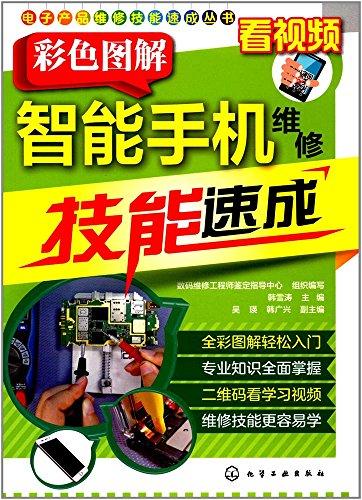 カラーグラフィックのスマートフォン修理スキルクラッシュ