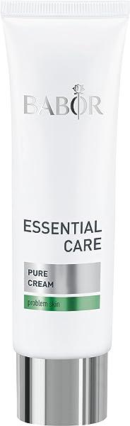 BABOR 芭宝 ESSENTIAL CARE Pure面霜 轻质抗痘面霜,带来更清爽和清新的皮肤,1 x 50 毫升