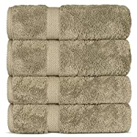 Indulge Linen 浴巾,* 土耳其棉 浮木色 Bath Towels (27x54 inches) - Set of 4