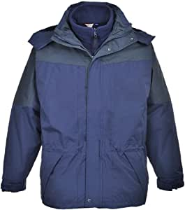 Portwest Aviemore 3 in 1 Mens Jacket US570 海蓝色 3X-Large