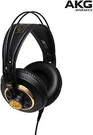 AKG Pro Audio Studio Professional 半开立体声耳机 黑-金色 K-240