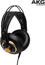 AKG Pro Audio Studio Professional 半開立體聲耳機 黑-金色 K-240