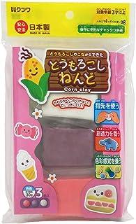 Kutsuwa 粘土 淘气粘土 3色セット(ピンク系)