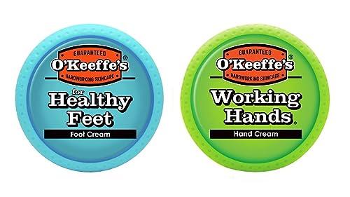 经典热销爆款,O'Keeffe's护手霜&护足霜套装