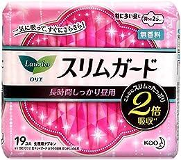 KAO 日本花王 零触感超薄特长日用护翼卫生巾 25cm 19枚 包装随机(日版乐而雅)(进口)