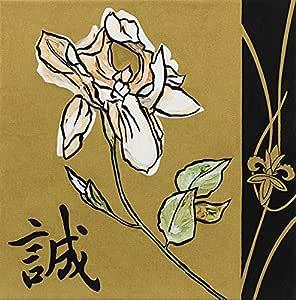 Frame USA Asian Iris 镶框印刷品 63.5 厘米 x 63.5 厘米 由 John Zaccheo-JOHZAC66563 绘制,63.5 厘米 x 63.5 厘米,仅无框/印花
