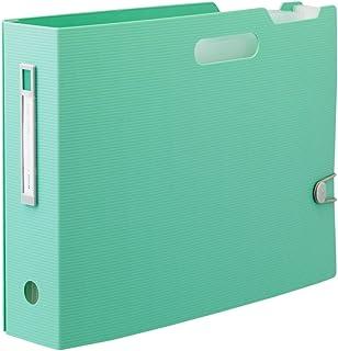 LIHIT LAB. 文件箱 A4 横向 浅绿色