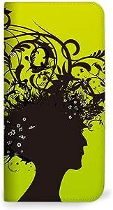 mitas iphone 手机壳245NB-0130-GR/F-12D 37_らくらくスマートフォン (F-12D) 绿色(无带)