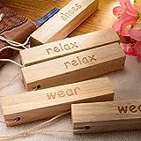 Doruik 德瑞克 香樟实木块衣物驱虫防蛀去异味防霉樟树木条 (10条装)