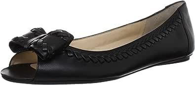 Nine West 玖熙 女 平底鞋NWBONIELYN  301033324L 黑/黑 37.5 (US 7.5)