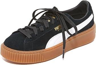 PUMA 彪马 女士Suede Core Platform仿麂皮运动鞋
