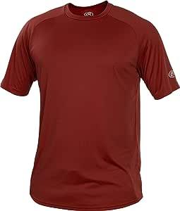 Rawlings 男式圆领 Tech T 恤系列,深红色,XXL 码