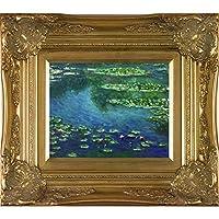 overstockArt Monet Water Lilies Artwork with Victorian Gold Frame