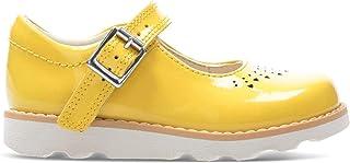 Clarks 女孩 Crown Jump T 乐福鞋