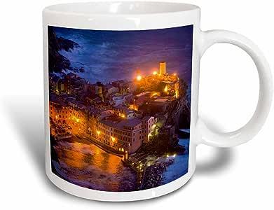 3dRose Italy, Vernazza, Cinque Terre, Evening-Jaynes Gallery, Magic Transforming Mug, 11-Oz