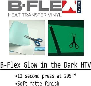 "B-Flex 夜光 HTV - 热转印乙烯基 12""x20"" B-FlexReflective"