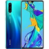 HUAWEI 华为 P30 SIM 无锁版智能手机P30/AURORA/A  スマホのみ 蓝色
