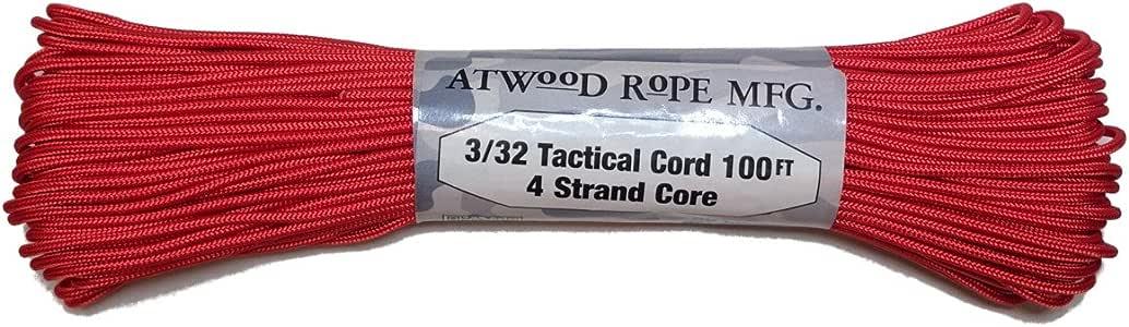 Atwood 移动产品伞绳 0.8cm 战术绳 4 尼龙绳 芯 275 测试重量. TS03