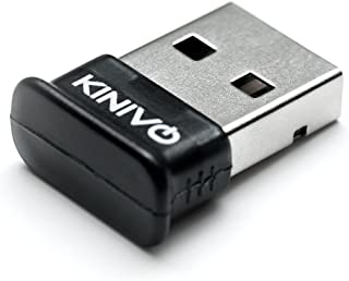 Kinivo BTD-400 藍牙 4.0 低能耗 USB 適配器 - 適用于 Windows 10/8.1/8 / Windows 7 / Vista,Raspberry Pi,Linux