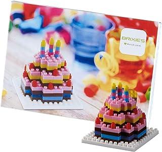 Brixies 220.012 明信片生日蛋糕 3-D 拼图,多色