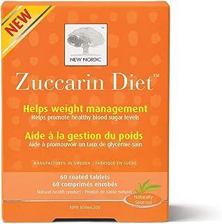 New Nordic Zuccarin 饮食与桑叶补充剂,60 片剂帮助减少碳水化合物吸收
