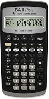 Texas Instruments 德州仪器 BA II Plus 财务计算器