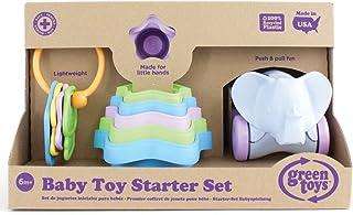Green Toys 婴儿玩具入门套装(钥匙扣、叠杯、大象)