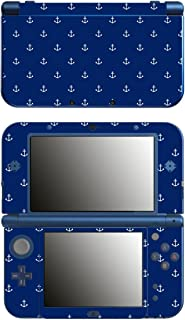 'Disagu SF 锚 106243 1039 设计师保护膜 适用于新任天堂 3DS XL - 图案 - 小号 - 深蓝色透明